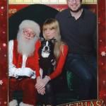 Basil meets Santa!