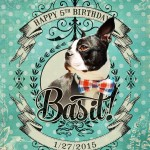Happy Birthday Basil!!!