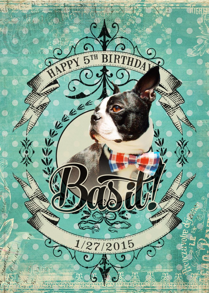 Basil's 5th Birthday!