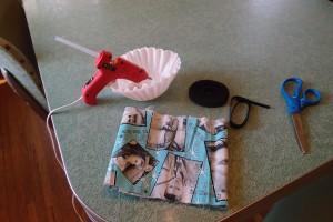 DIY No Sew Bow Tie Tutorial Step 1