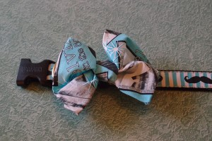 DIY No Sew Bow Tie Tutorial Step 8