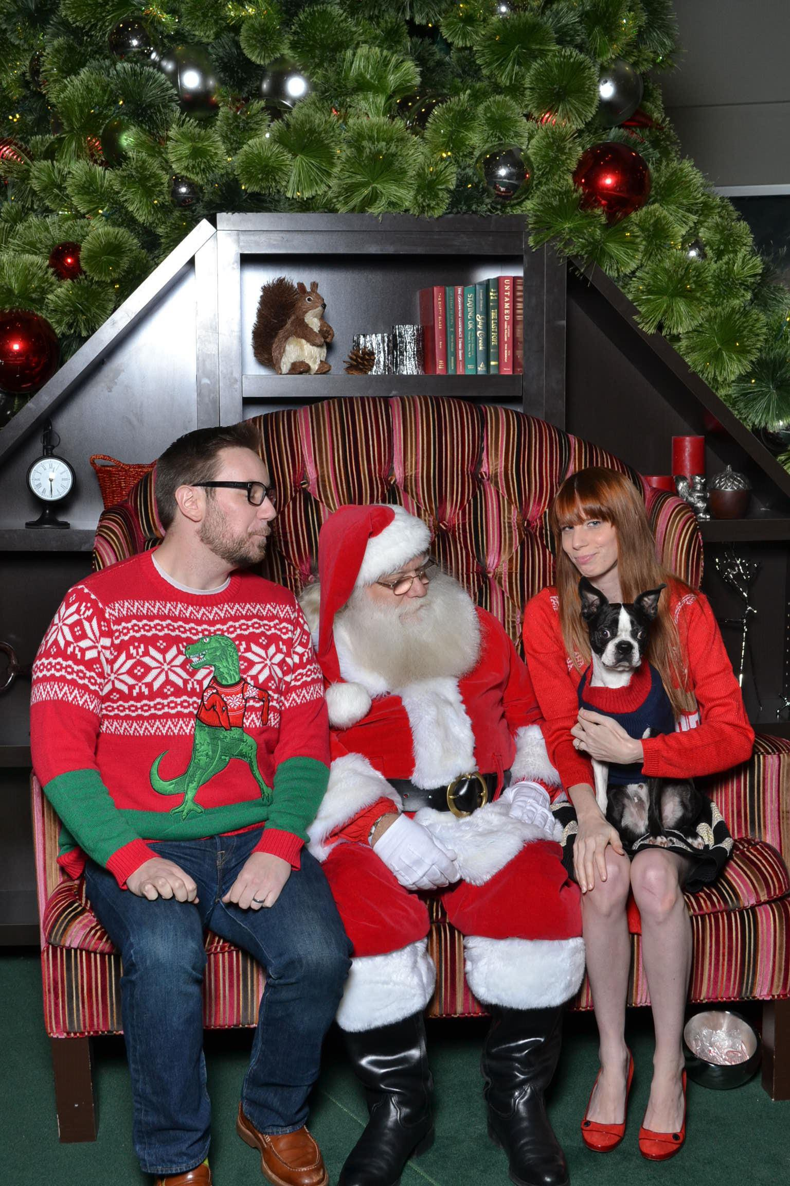 Funny Santa Photo 2k15